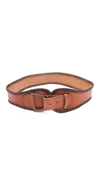 Linea Pelle Jessie Vintage Wide Waist Belt
