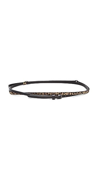 Linea Pelle Allegra Haircalf Wrap Belt