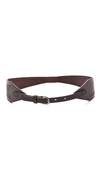 Linea Pelle Avery Snake Belt