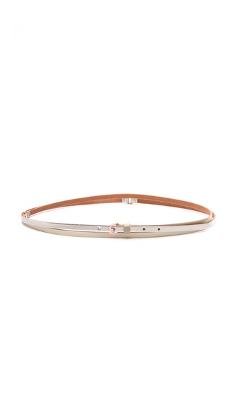 Linea Pelle Allegra Skinny Double Wrap Belt