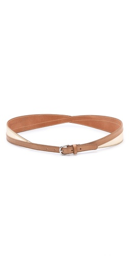 Linea Pelle Allegra Colorblock Swirled Belt