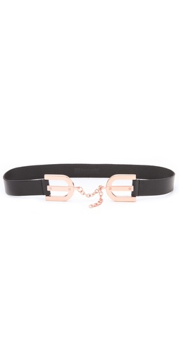 Linea Pelle Avery Horseshoe Buckle Waist Belt