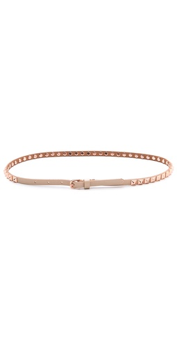 Linea Pelle Ricky Studded Skinny Belt at Shopbop / East Dane