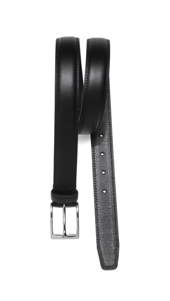 Linea Pelle Belt with Silver Tone Buckle