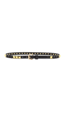 Linea Pelle Thin Stud Belt