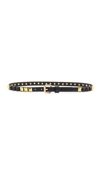 Linea Pelle Thin Stud Belt