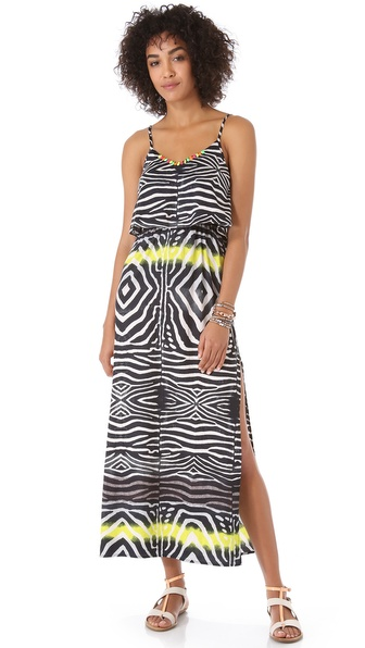 Line & Dot Bare Back Maxi Dress