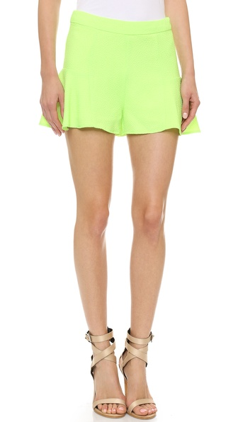 Line & Dot Mini Shorts