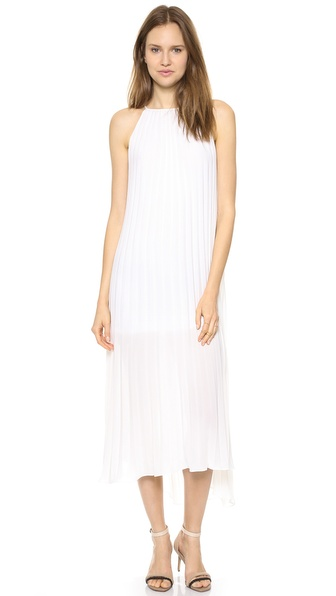 Line & Dot Summer Pleats Dress