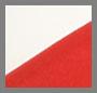 Red/Cream Crepe