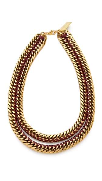 Lizzie Fortunato Un-Zipped Necklace