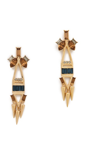 Lizzie Fortunato Fitzgerald Earrings