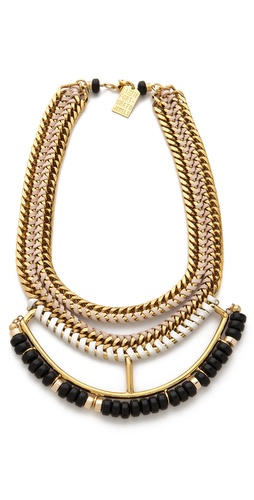 Shop Lizzie Fortunato Open Spaces II Necklace and Lizzie Fortunato online - Accessories,Womens,Jewelry,Necklace, online Store