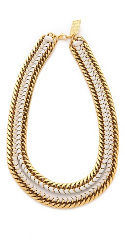 Shop Lizzie Fortunato Unzipped Necklace and Lizzie Fortunato online - Accessories,Womens,Jewelry,Necklace, online Store