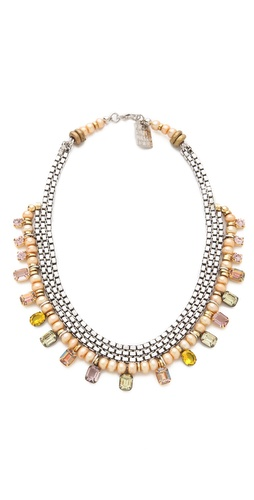 Shop Lizzie Fortunato The Bentley II Necklace and Lizzie Fortunato online - Accessories,Womens,Jewelry,Necklace, online Store