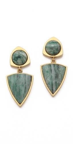 Lizzie Fortunato Healer's Stone Earrings