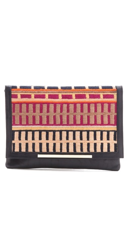 Lizzie Fortunato Port Of Call Clutch at Shopbop.com