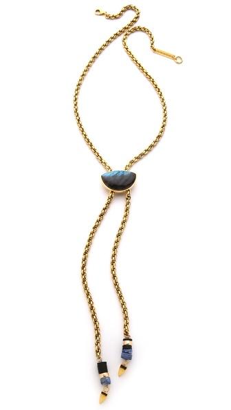Lizzie Fortunato The Minimal Luxe Bolo Necklace