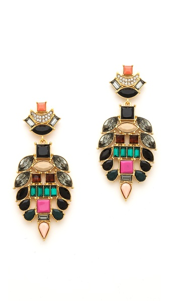 Lizzie Fortunato The Majestic II Earrings