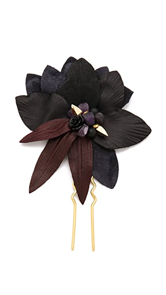 Lizzie Fortunato Dark Petal Hair Pin