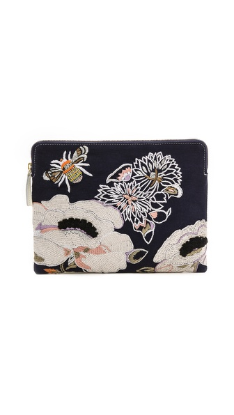 Lizzie Fortunato Monet Safari Clutch