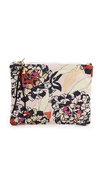 Lizzie Fortunato Bloom Printed Pouch