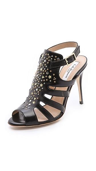 L.K. Bennett Salinas Studded Sandals