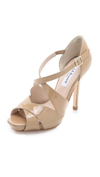 L.K. Bennett Sandy Platform Sandals
