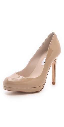 L.K. Bennett Sledge Patent Platform Pumps at Shopbop / East Dane