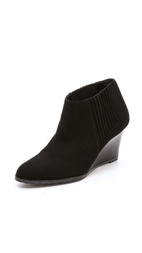 L.K. Bennett Nora Wedge Booties