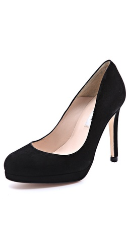 L.K. Bennett Sledge Platform Pumps at Shopbop / East Dane