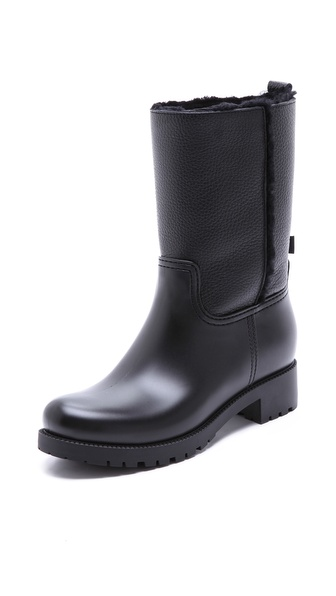 L.K. Bennett Warren Cold Weather Rain Boots