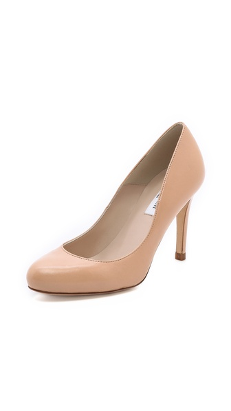 L.K. Bennett Stila Round Toe Pumps