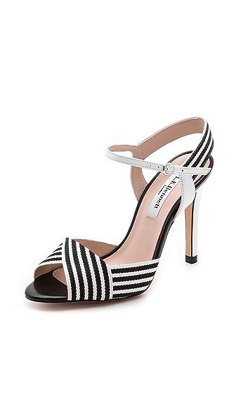 L.K. Bennett Colette Stripe Sandals