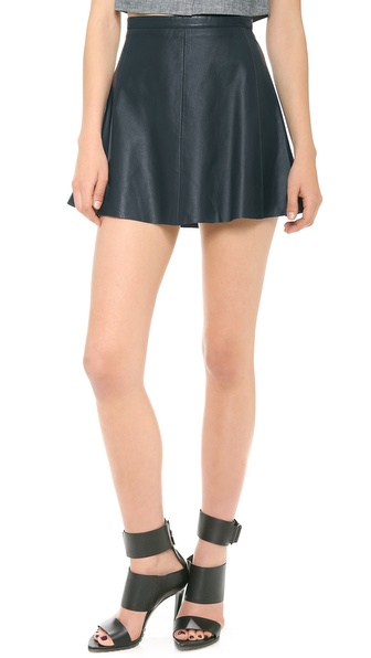 Love Leather Legs Legs Legs Miniskirt