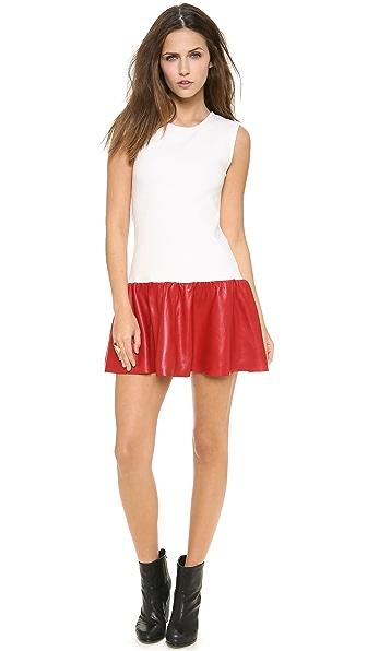 Love Leather Courtside Mini Dress