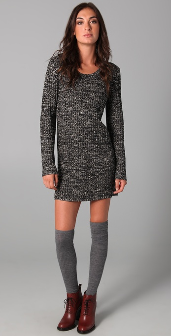 Le Mont St. Michel Knit Sweater Dress
