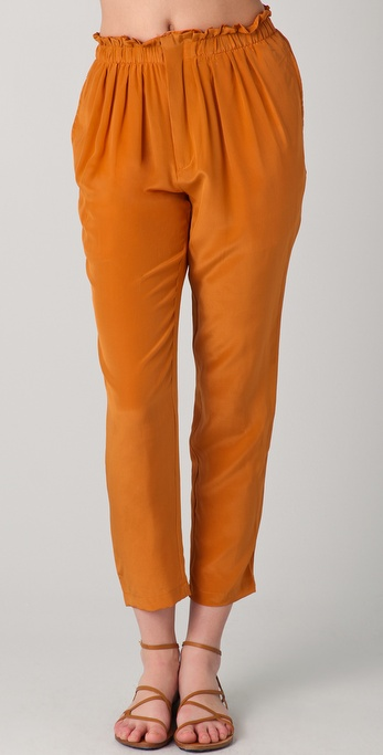 Le Mont St. Michel Cropped Trousers