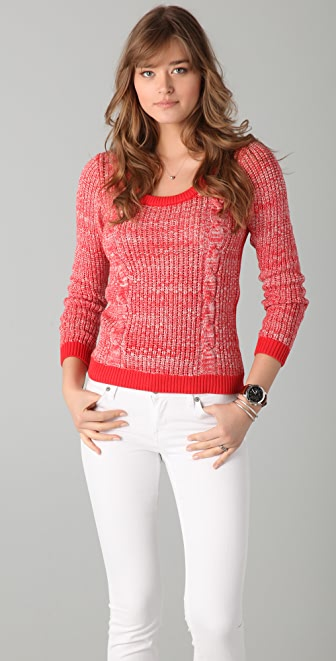 Le Mont St. Michel Cable Sweater