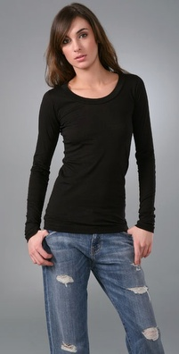 LNA Long Sleeve Crew Tee