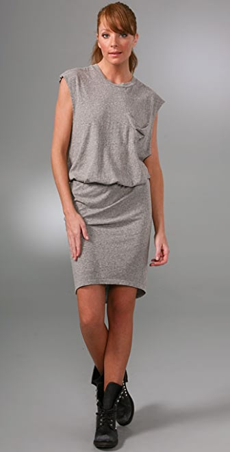 LNA Delta Pocket Dress