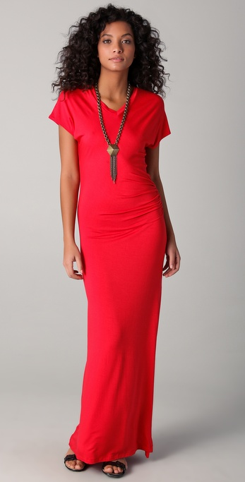 LNA Berkley V Maxi Dress
