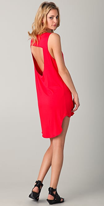 LNA Cardiff Cutout Dress