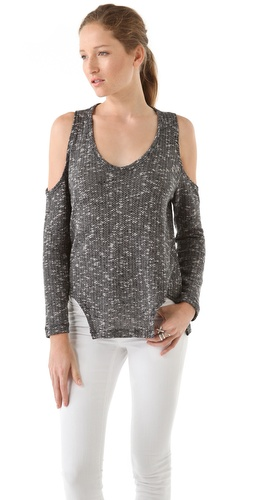 LNA Carmen Cut Out Sweater
