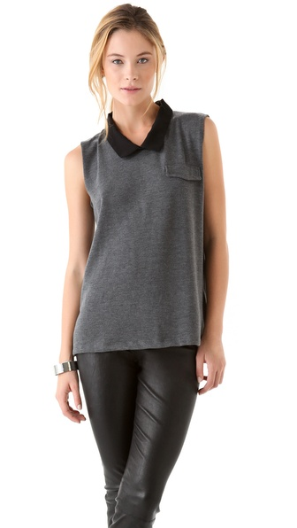 LNA Abbey Sleeveless Sweater