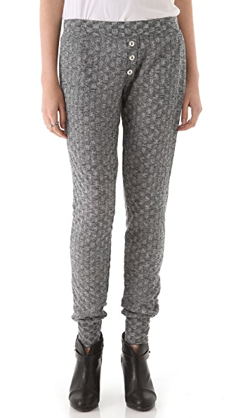 LNA Checkered Sweatpants