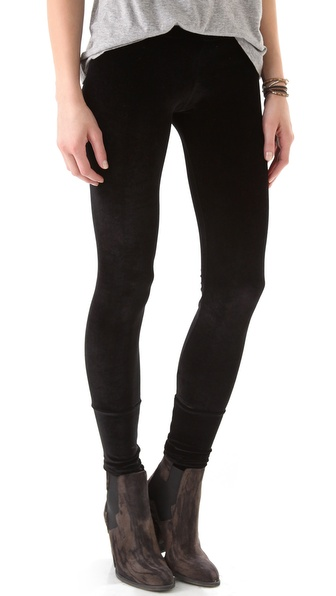 LNA Velvet Leggings