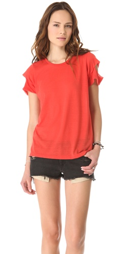 Kupi LNA Cutout Tee i LNA haljine online u Apparel, Womens, Tops, Tee,  prodavnici online