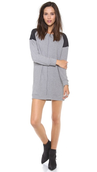 LNA Cyd Sweatshirt Dress