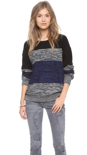 LNA Multi Stripe Sweater